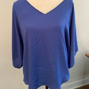 WHBM Periwinkle Blouse